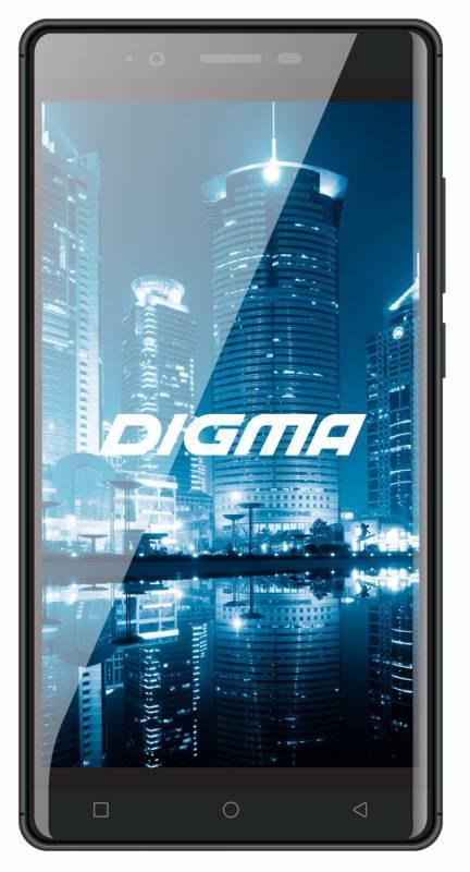 Смартфон Digma Z530 3G CITI 8ГБ титан - фото 1