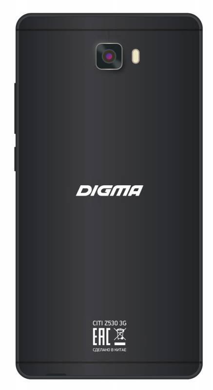 Смартфон Digma Z530 3G CITI 8ГБ титан - фото 2