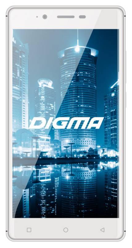 Смартфон Digma Z530 3G CITI 8ГБ белый - фото 1
