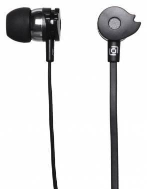 Наушники Oklick HP-S-210 черный, вкладыши, крепление в ушной раковине, проводные, прямой коннектор, кабель 1.2м