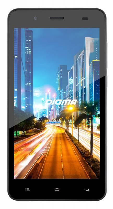 Смартфон Digma Z510 3G CITI 4ГБ черный - фото 1
