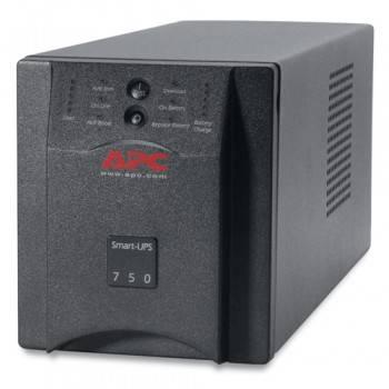 ИБП APC Smart-UPS SUA750I черный