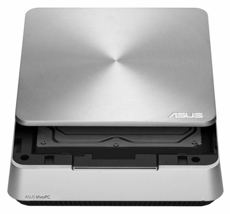 Неттоп Asus VivoPC VM42-S223Z серебристый - фото 3