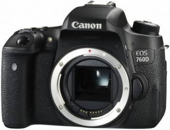 Фотоаппарат Canon EOS 760D черный, Body