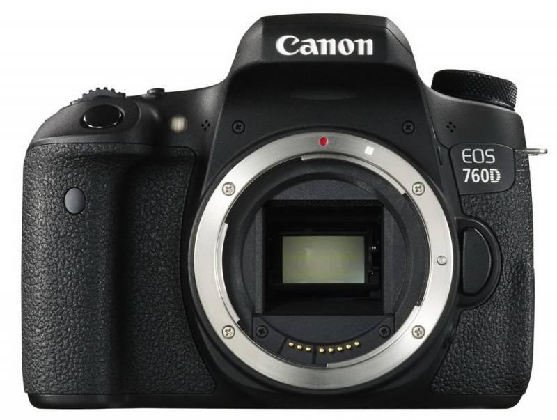 Фотоаппарат Canon EOS 760D черный, Body - фото 2
