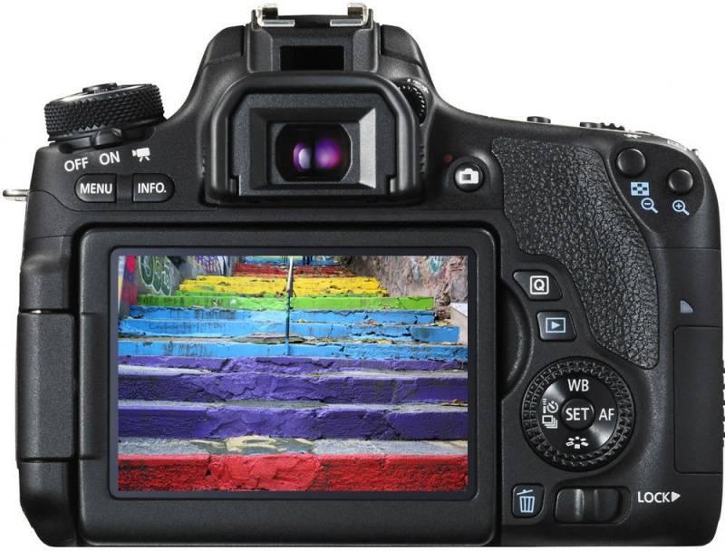 Фотоаппарат Canon EOS 760D черный, Body - фото 3