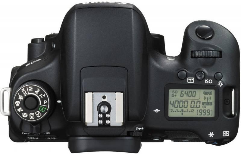 Фотоаппарат Canon EOS 760D черный, Body - фото 5
