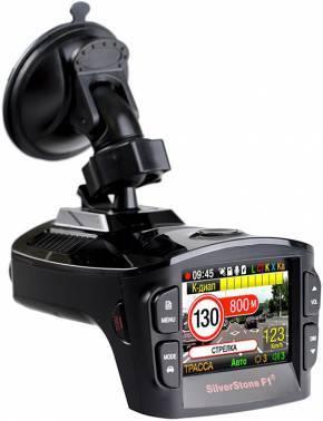 Радар-детектор Silverstone F1 Hybrid EVO Видеорегистратор GPS приемник G-сенсор