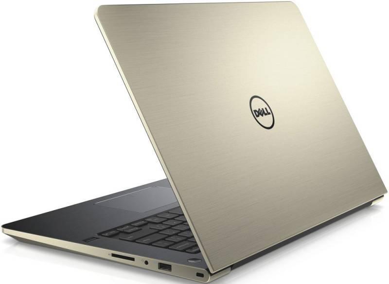 "Ноутбук 14"" Dell Vostro 5459 золотистый - фото 3"