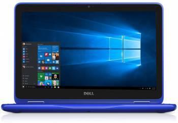 Трансформер Dell Inspiron 3168 Pentium N3710/4Gb/500Gb/Intel HD Graphics 405/11.6/1366x768/Windows 10 64-bit/синий/WiFi/Cam (3168-5414)