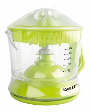Соковыжималка цитрусовая Scarlett SC-JE50C04 зеленый