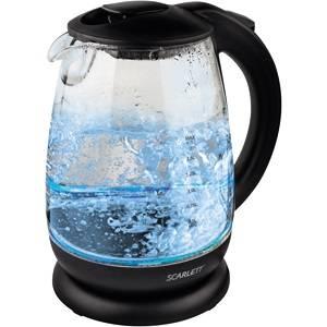 Чайник электрический Scarlett SC-EK27G15 черный (SC - EK27G15)