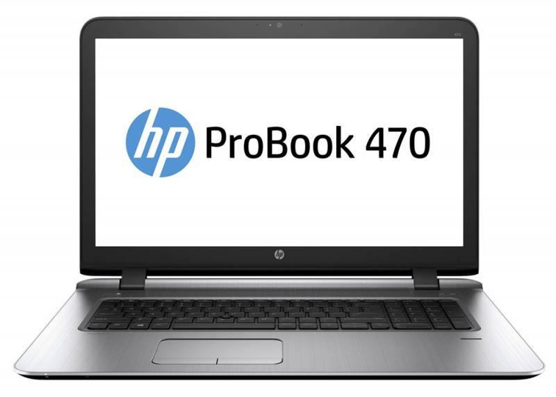 """Ноутбук 17.3"""" HP ProBook 470 G3 черный - фото 1"""