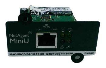 Модуль Powercom DY802 SNMP for UPS 1port short