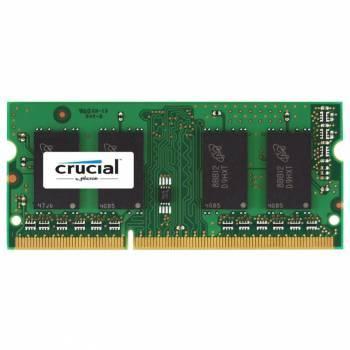 Модуль памяти Crucial CT25664BF160B, объем 1 х 2Gb, форм-фактор SO-DIMM 204-pin, тип памяти DDR3L, рабочая частота 1600MHz, unbuffered