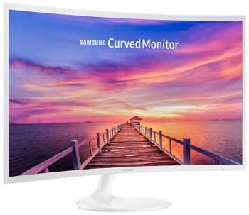 Монитор 32 Samsung C32F391FWI белый