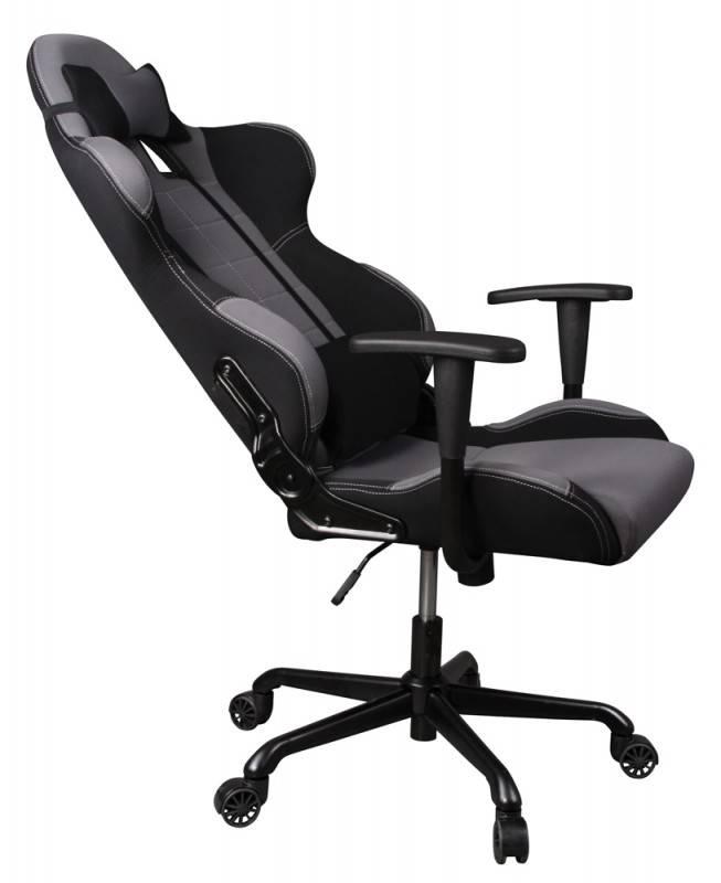 Кресло игровое Бюрократ 771 серый (771/GREY+BL) - фото 2