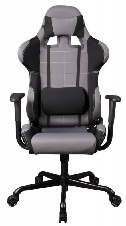 Кресло игровое Бюрократ 771 серый (771/GREY+BL) - фото 3
