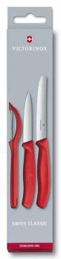 Набор ножей стальной Victorinox Swiss Classic красный (6.7111.31)