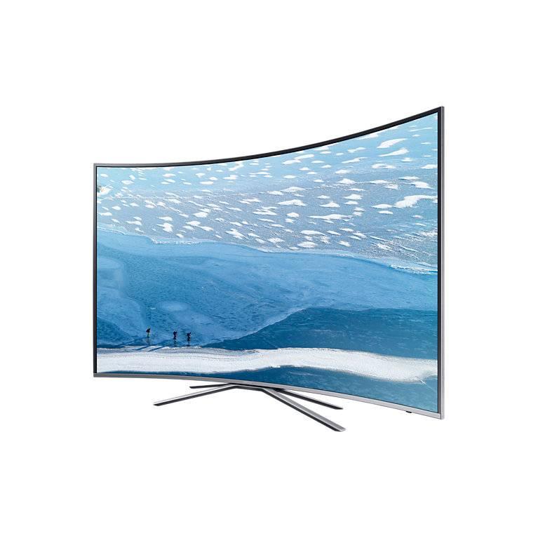 "Телевизор LED 49"" Samsung UE49KU6500UXRU серебристый - фото 3"