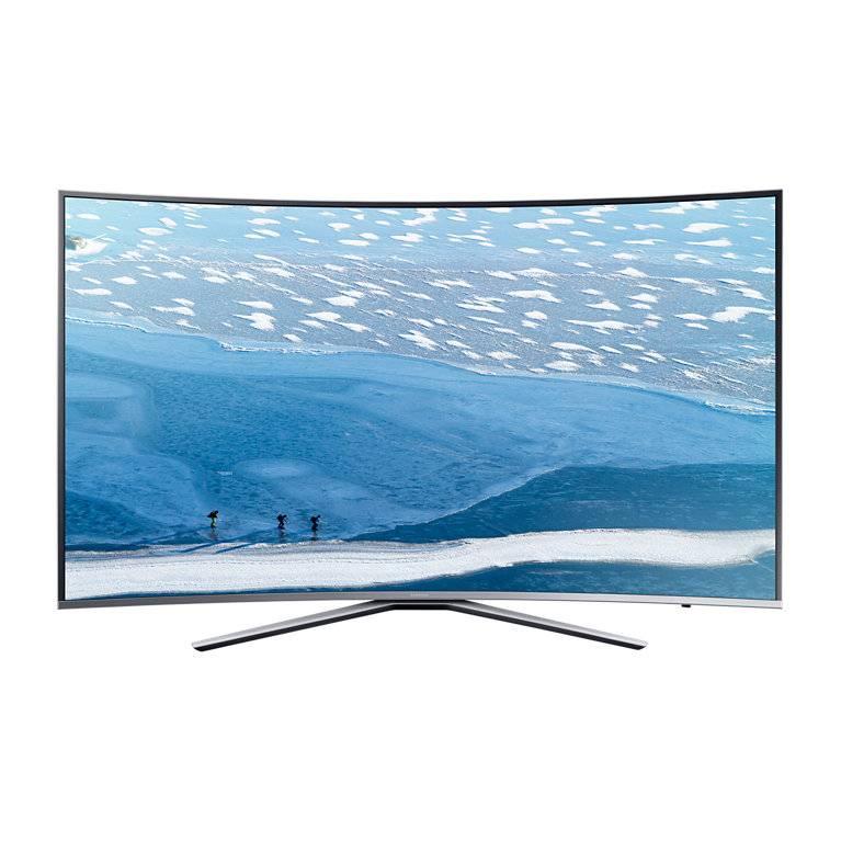 "Телевизор LED 49"" Samsung UE49KU6500UXRU серебристый - фото 5"