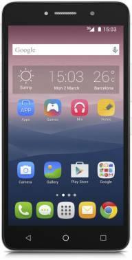 Смартфон Alcatel 8050D Pixi 4 серебристый, встроенная память 8Gb, дисплей 6 960x540, Android 5.1, камера 8Mpix, поддержка 3G, 2Sim, 802.11bgn, BT, GPS, microSD до 64Gb (8050D-2BALRU1)