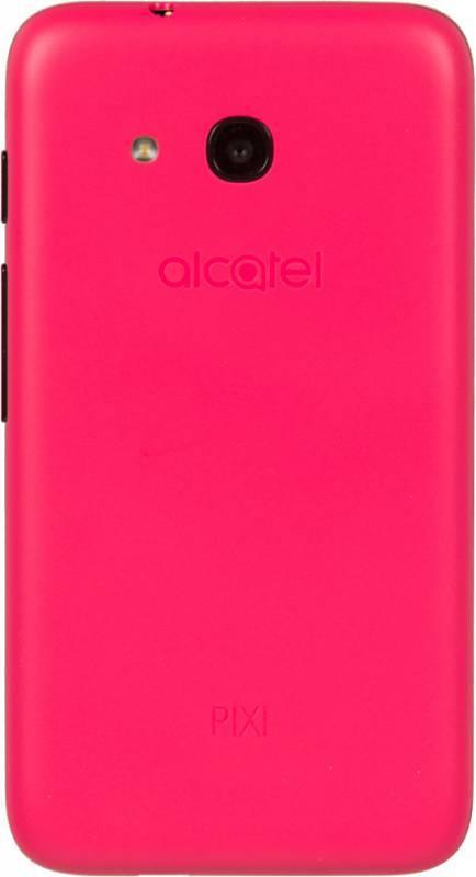 Смартфон Alcatel Pixi 4 4034D 4ГБ розовый/черный - фото 4