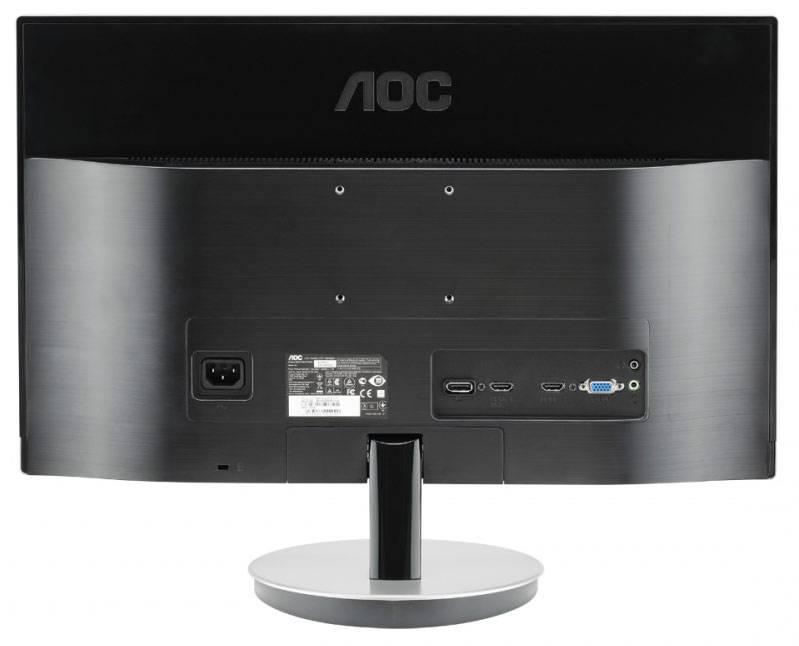 """Монитор 27"""" AOC Style i2769V(/01) серебристый - фото 2"""