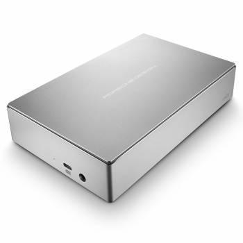 Внешний жесткий диск 4Tb Lacie STFE4000200 Porsche Design Desktop серебристый USB 3.1