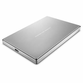 Внешний жесткий диск 2Tb Lacie STFD2000400 Porsche Design Mobile серебристый USB 3.1
