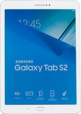Планшет 9.7 Samsung Galaxy Tab S2 SM-T819 32ГБ белый (SM-T819NZWESER)