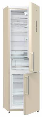 Холодильник Gorenje NRK6201MC-O бежевый/серебристый
