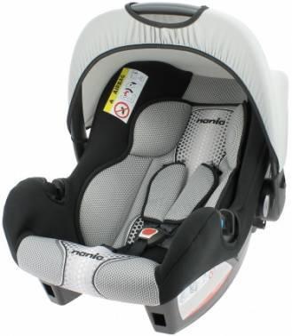 Автокресло детское Nania Beone SP FST (pop black) черный / серый