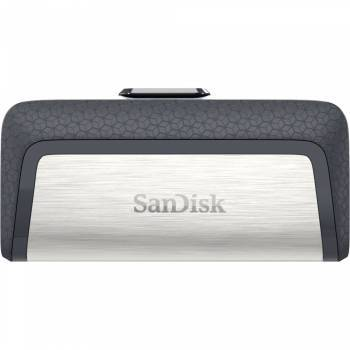 Флеш диск 64Gb Sandisk Ultra Dual USB3.0 серый / узор