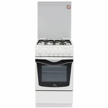 Плита Газовая De Luxe 506040.03г чр белый