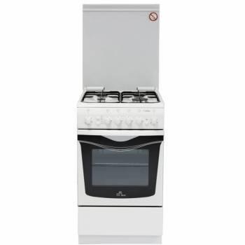 Плита комбинированная De Luxe 506040.00гэ чр. белый