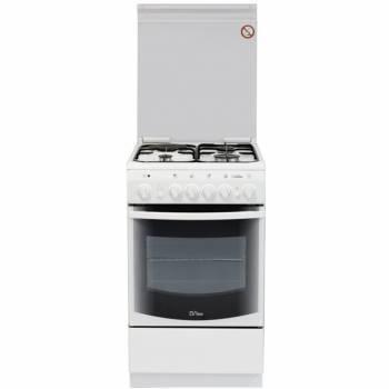 Плита комбинированная De Luxe 506031.00гэ белый