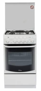 Плита комбинированная De Luxe 5040.20гэ ЧР белый