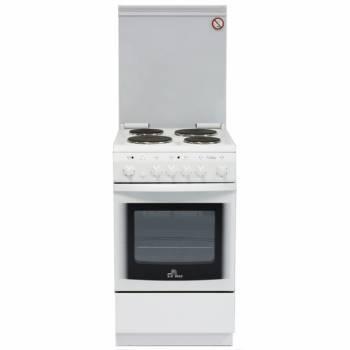 Плита электрическая De Luxe 5004.10э КР белый