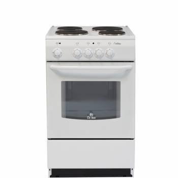 Плита электрическая De Luxe 5004.12э белый