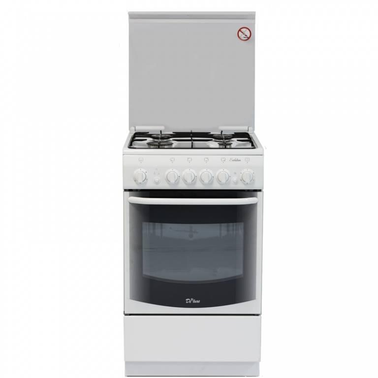 Плита газовая De Luxe 5040.33г белый - фото 1