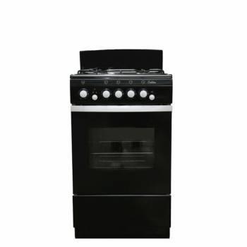 Плита газовая De Luxe 5040.36г черный (5040.36Г ЧЕРН)