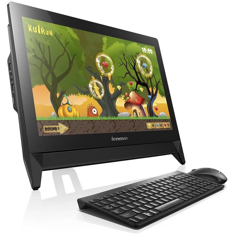 """Моноблок 19.5"""" Lenovo C20-00 черный - фото 1"""