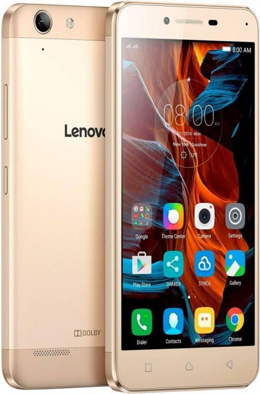 Смартфон Lenovo Vibe K5 A6020 16ГБ золотистый - фото 1