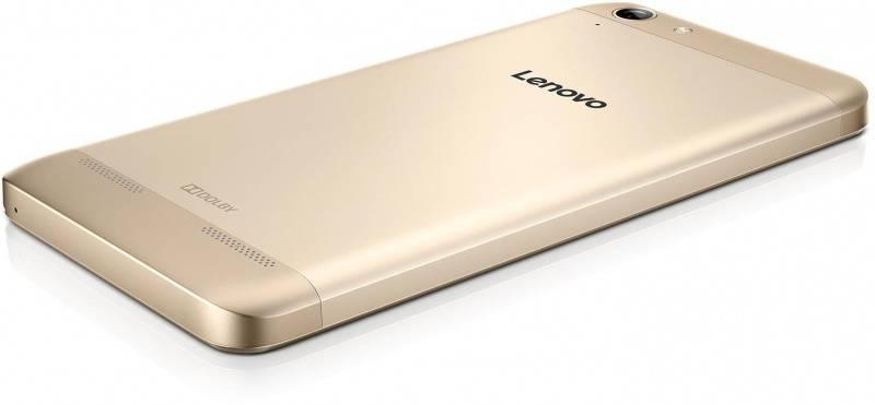 Смартфон Lenovo Vibe K5 A6020 16ГБ золотистый - фото 2