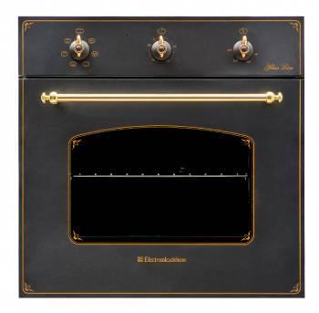 Духовой шкаф электрический Electronicsdeluxe 6006.03 эшв - 008 черный матовый