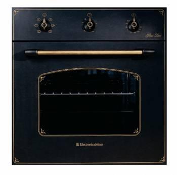 Духовой шкаф электрический Electronicsdeluxe 6006.03 эшв-009 черный матовый