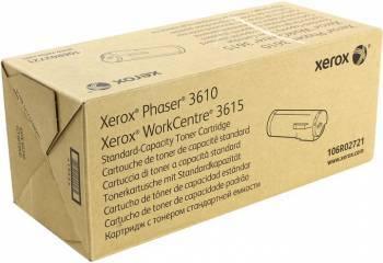 Картридж Xerox 106R02721 черный