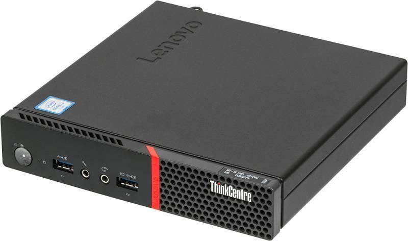 Системный блок Lenovo ThinkCentre M700 TINY черный - фото 1