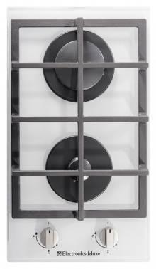 Газовая варочная поверхность Electronicsdeluxe GG2 400215F - 002 стекло белое